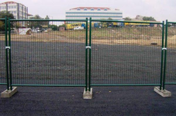 Временное ограда