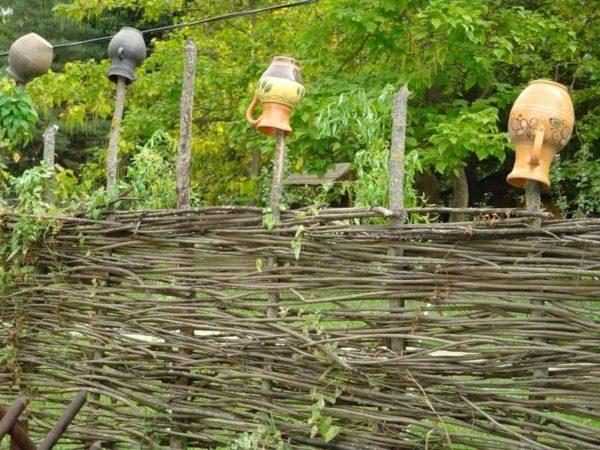 Декор деревянного забора