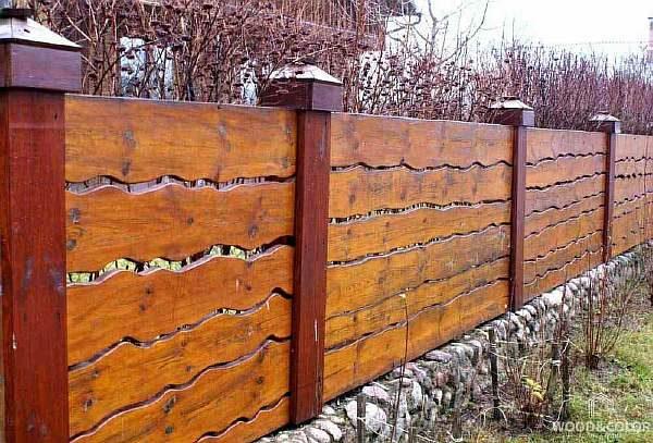 Ограда на участке