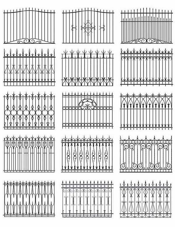 Чертежи ворот