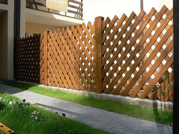 Деревянные заборы для частного дома