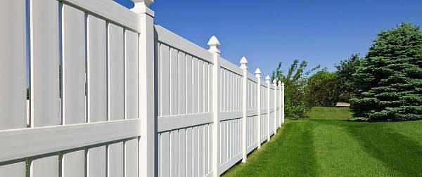 Ограда из ПВХ