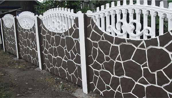Ограда для дома