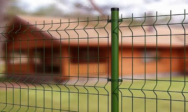 Забор сварной из сетки