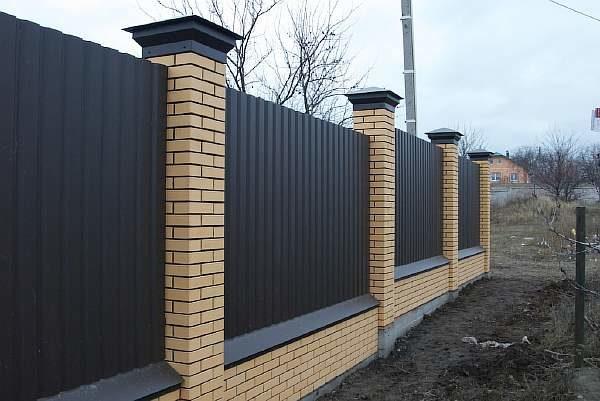 Строим ограду