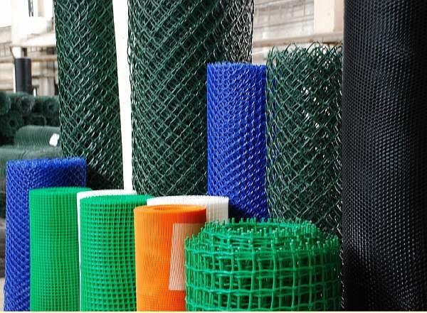 Сетка пластиковая для ограждения
