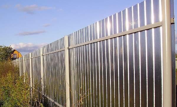 Самодельная ограда