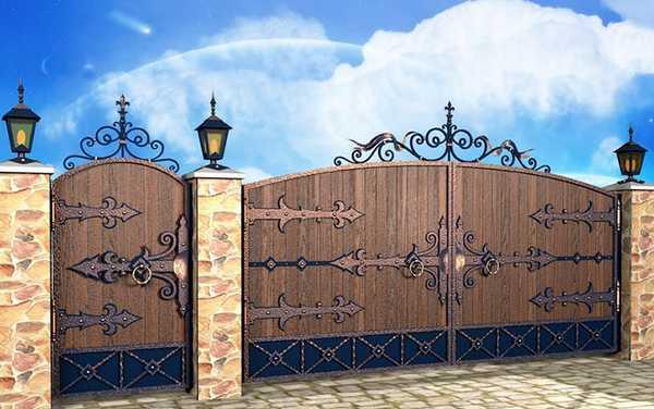 Оформление дверцы