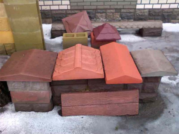 Выбор бетонных изделий