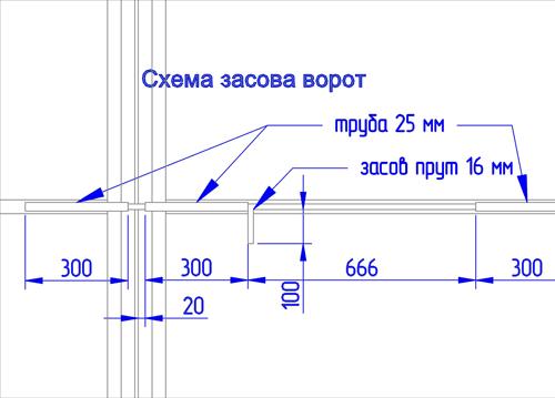 Схематический чертеж