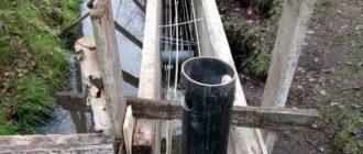 Монтаж изгороди на водонасыщенных почвах