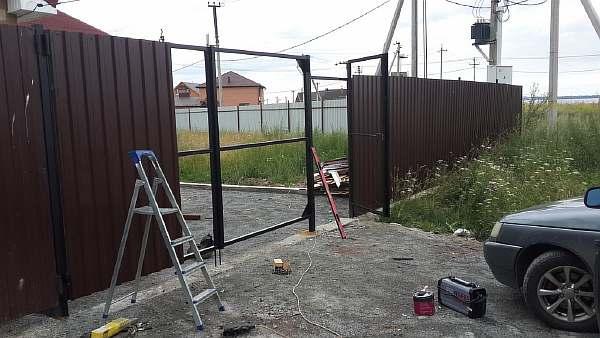 Как сварить ворота