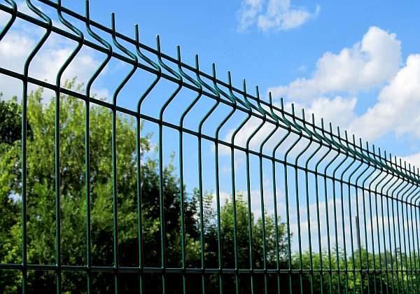 Забор на даче