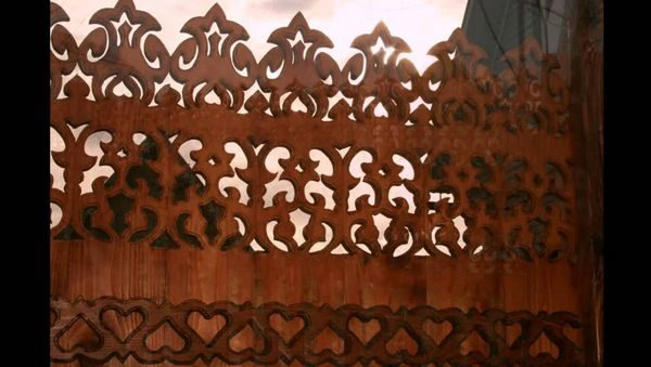 Сборка ограды