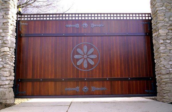 Ворота из вагонки