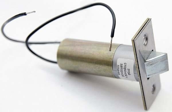 Электронная защелка для калитки