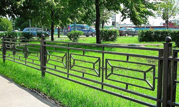 Сварная ограда