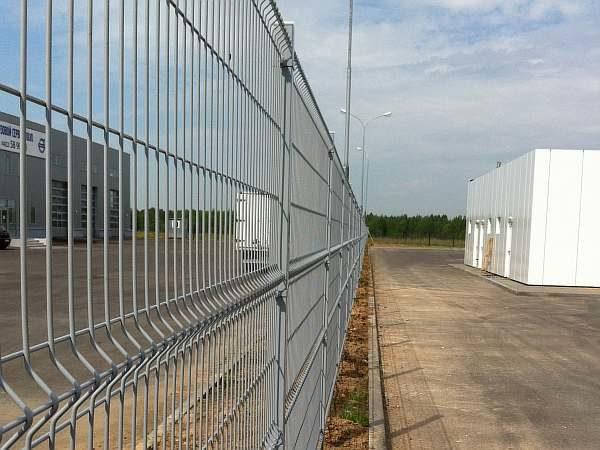 Прозрачный забор