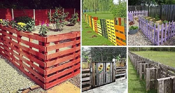 Варианты оград