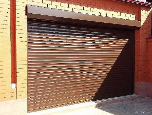 Ширина ворот для гаража