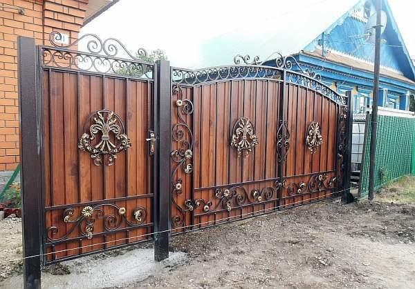 Пример ворот