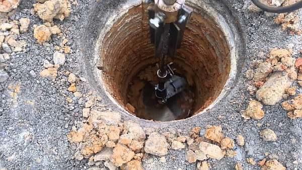 Лунка под фундамент