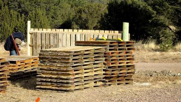 Установка ограды
