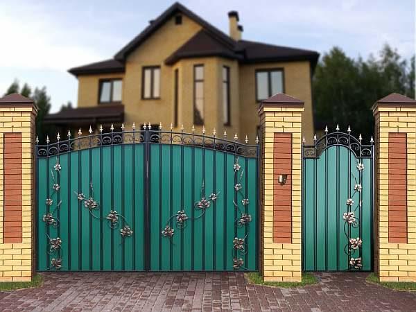 Калитка и ворота из профлиста