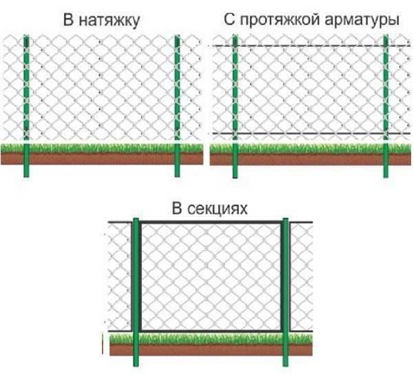 Схемы заборов