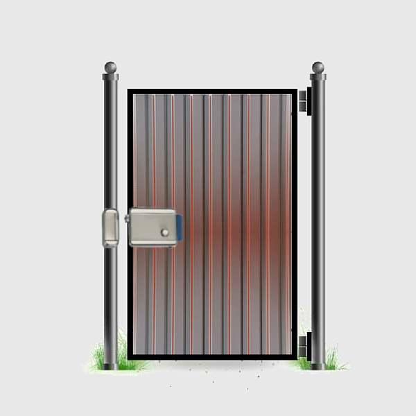 Дверца из металла